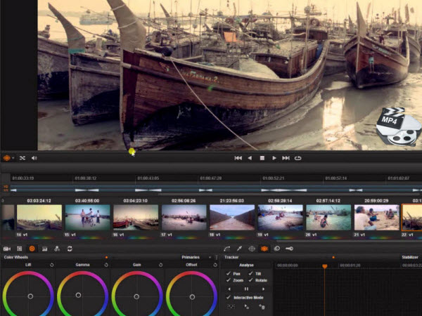 MP4 and DaVinci Resolve